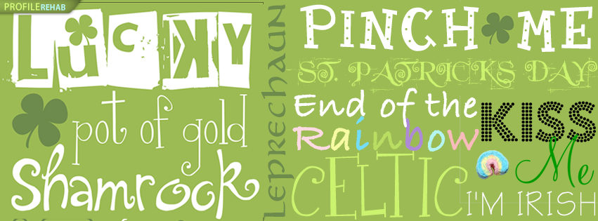 St. Patricks Day Sayings Facebook Cover - Irish Sayings and Quotes Images