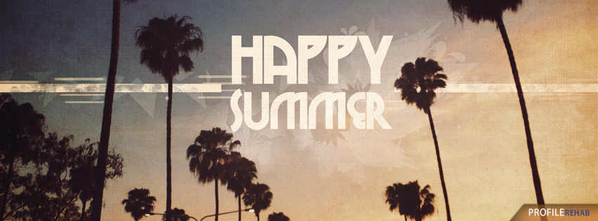 Cool Happy Summer Images for Facebook - Happy Summer Pictures with Palm Trees Preview