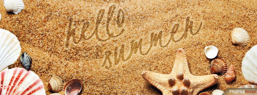 Hello Summer Graphic - Summer Graphics for Facebook