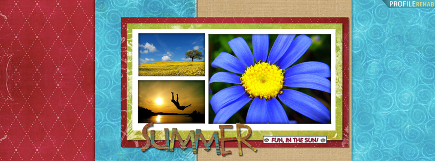 Scenic Summer Facebook Cover - Cool Summer Theme - Cute Summer Themes for FB