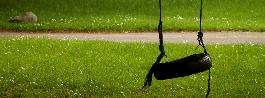 Summer Tire Swing Facebook Cover