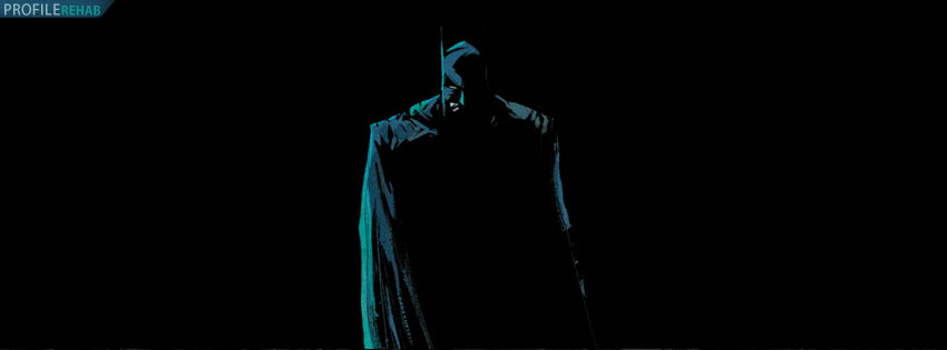 Black Batman Facebook Cover