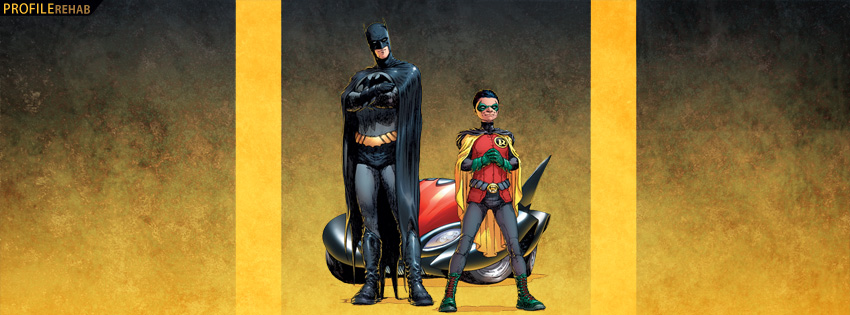 Batman and Robin Facebook Cover