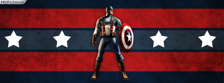 Captain America Facebook Cover
