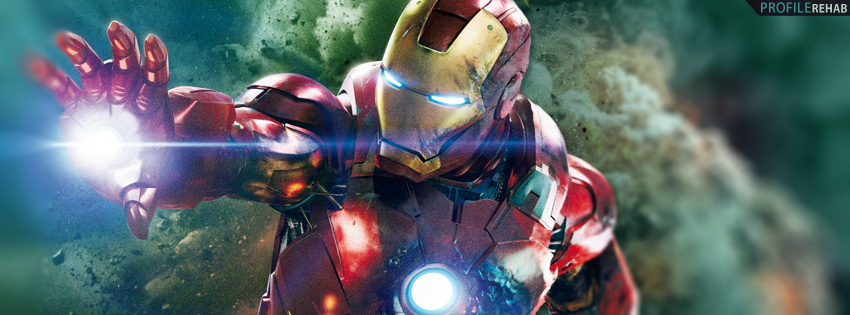 Avengers Iron Man Facebook Cover Preview
