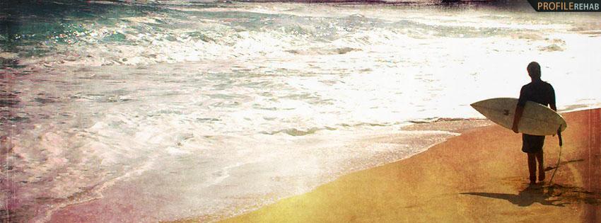 Grunge Surfing Facebook Cover