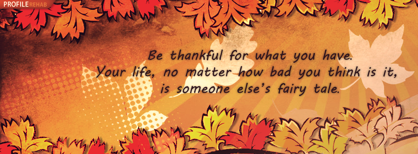 Thankful Quotes for Thanksgiving Cover Photos for Facebook Free