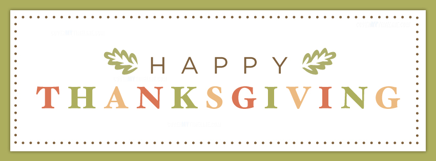 Thanksgiving Facebook Covers - Thanksgiving Pictures for Facebook