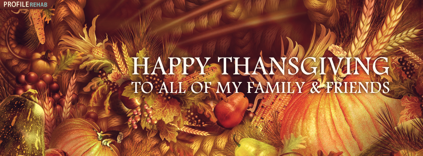 Happy Thanksgiving Photos for Facebook - Happy Thanksgiving Image Free Preview