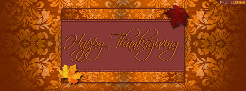 Happy Thanksgiving Timeline Cover - Picture of Happy Thanksgiving Photo