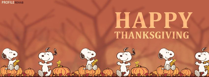 Snoopy Thanksgiving Cover Photo - Free Thanksgiving Images - Happy Thanksgiving pic