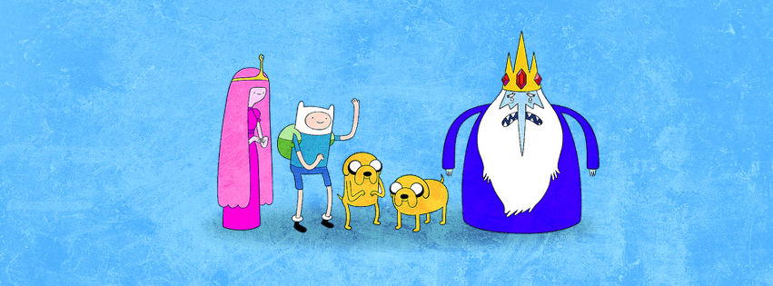 Adventure Time Facebook Cover