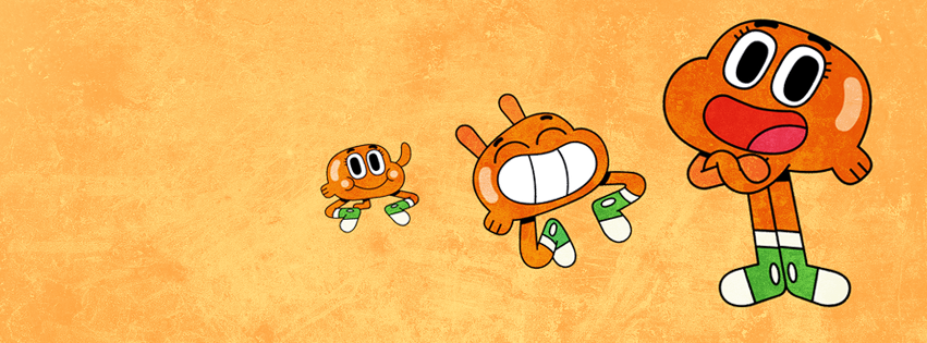 Amazing World of Gumball Darwin Watterson Facebook Cover