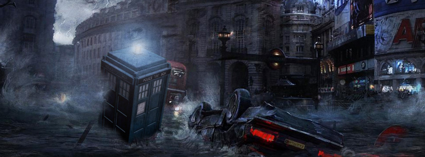 Dr. Who Facebook Timeline Cover