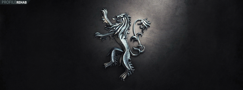 Game of Thrones Lannister Facebook Timeline Cover