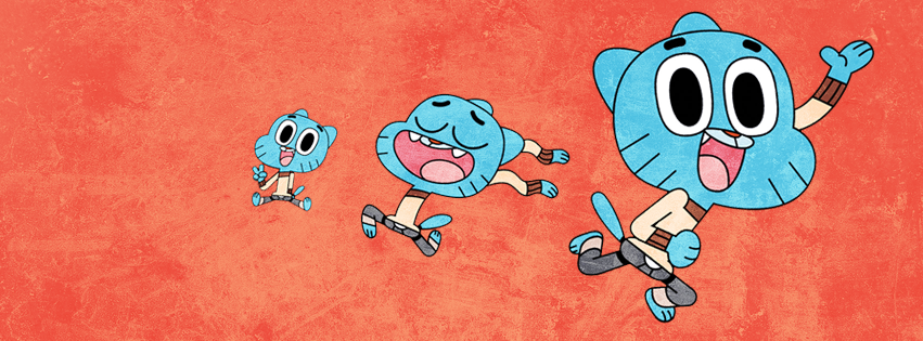 Amazing World of Gumball Facebook Cover