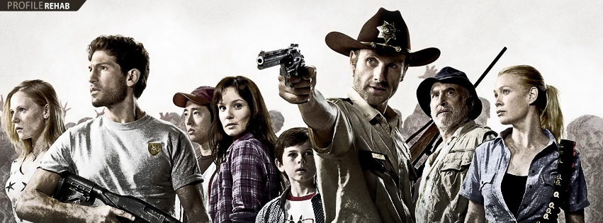 Walking Dead Group Facebook Cover