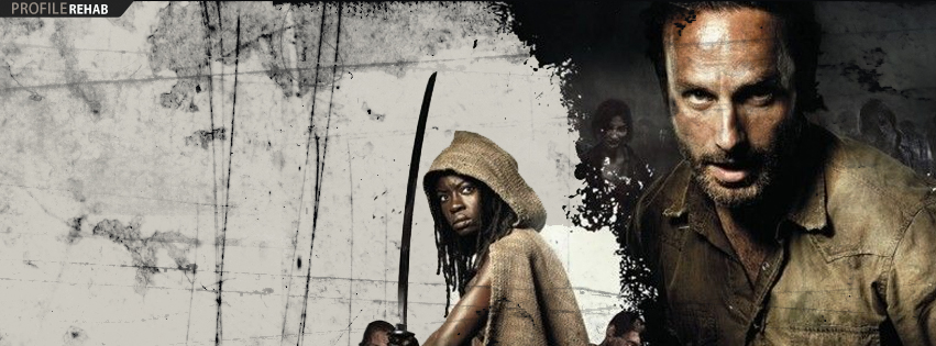 Michonne and Rick Walking Dead Cover