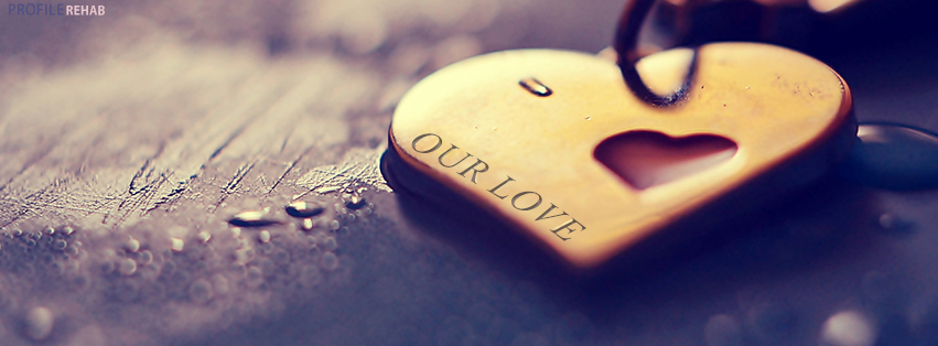 Valentine Heart Images Free that say Our Love - Pretty Love Images