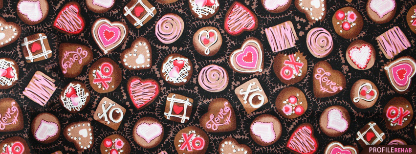 Valentine Chocolates Facebook Cover