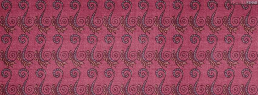 Cute Pink Pattern Facebook Cover for Timeline