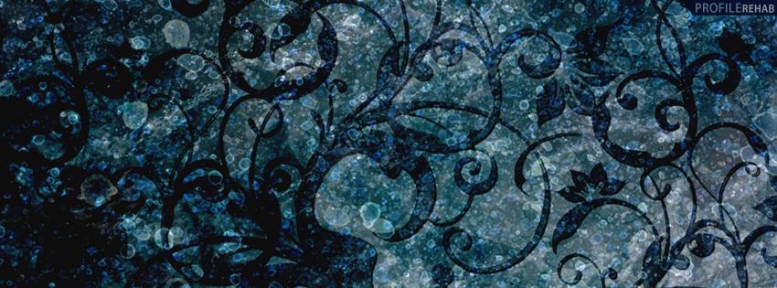 Blue Vintage Timeline Cover for Facebook