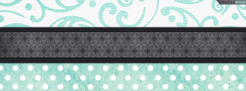 Blue & Gray Vintage Facebook Cover for Timeline