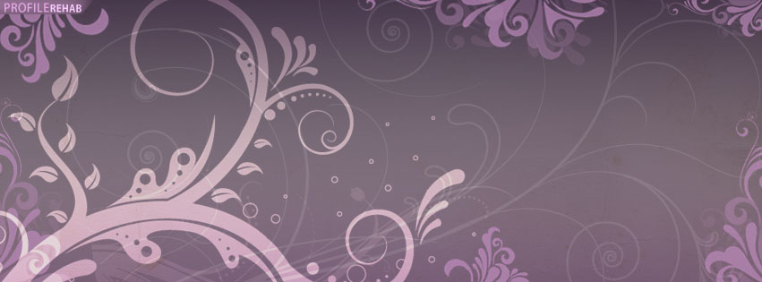 Purple Vintage Facebook Cover