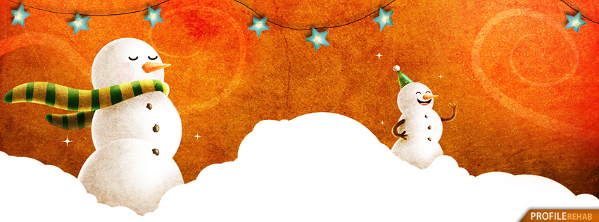 Winter Facebook Covers with Snowman Pictures