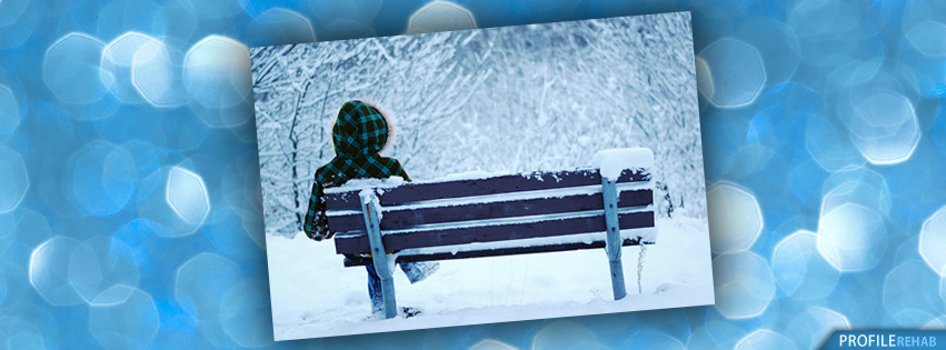 Blue Winter Facebook Covers