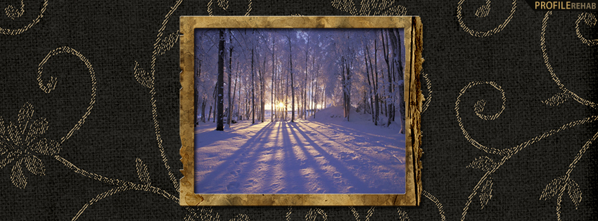Elegant Winter Facebook Cover