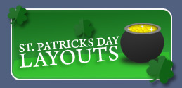 Free St. Patricks Day Myspace Layouts, New Saint Patricks Day Myspace Backgrounds & Cool St. Patricks Myspace Themes by ProfileRehab.com