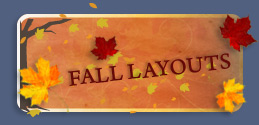 Free Fall Myspace Layouts, New Autumn Myspace Backgrounds & Cool Fall Myspace Themes by ProfileRehab.com