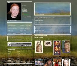 Ireland Grass Myspace Layout-Grass Wall Theme-Tall Grass Background