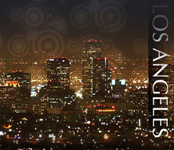 Los Angeles Skyline Myspace Layout - LA Skyline Background - LA Skyline Theme