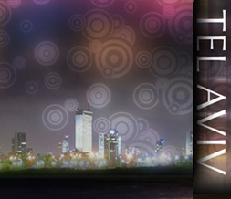 Tel Aviv Skyline Layout - Israel Skyline Background - City Theme