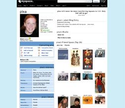 Plain Light Blue Default Myspace Layout - Solid Lt Blue Default Layout