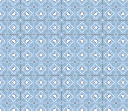 Blue Pattern Background for Twitter - Blue Tiling Pattern Twitter Theme