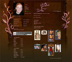 myspace layouts retro vintage free
