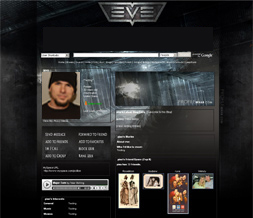 Eve Online Myspace Theme - Gamer Backgrounds - Gaming Layouts