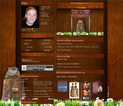 Groundhog Day Myspace Layout - Groundhog Profile Layout