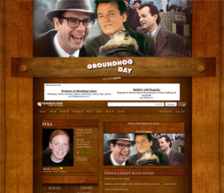 Groundhog Day Movie Layout - Groundhog Myspace Theme