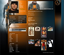New Halflife 2 Layout for Myspace - Cool Halflife Gaming Layouts