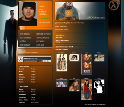 Unique Halflife 2 Myspace Layout - Cool Halflife Gaming Theme