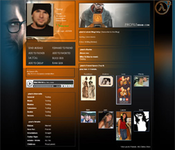 Best Halflife 2 Myspace Layout - Cool Game Themes - Awesome Halflife Design