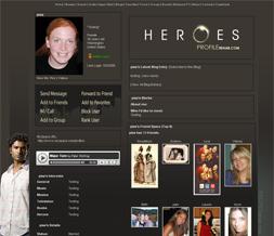 Heroes Myspace Layout - Mohinder Suresh Theme - Sendhil Ramamurthy Layout