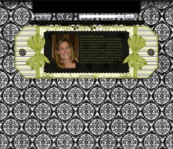 Black & Green Hide Everything Layout - Green & Black No Scroll Theme