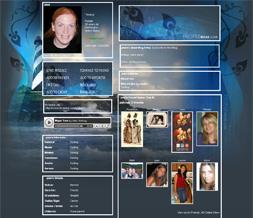 Lighthouse Myspace Background- Scenic Myspace Layout- Lighthouse Theme