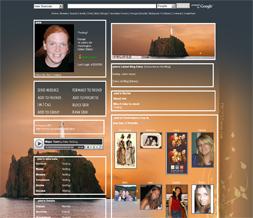 Lighthouse Myspace Layouts - Scenic Themes - Sunset Myspace Layout