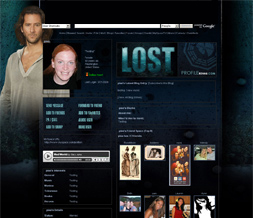 Lost Myspace Layout - Desmond Layout - Henry Ian Cusick Theme